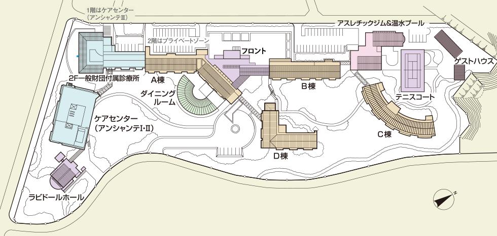 ラビドール御宿敷地配置図内容
